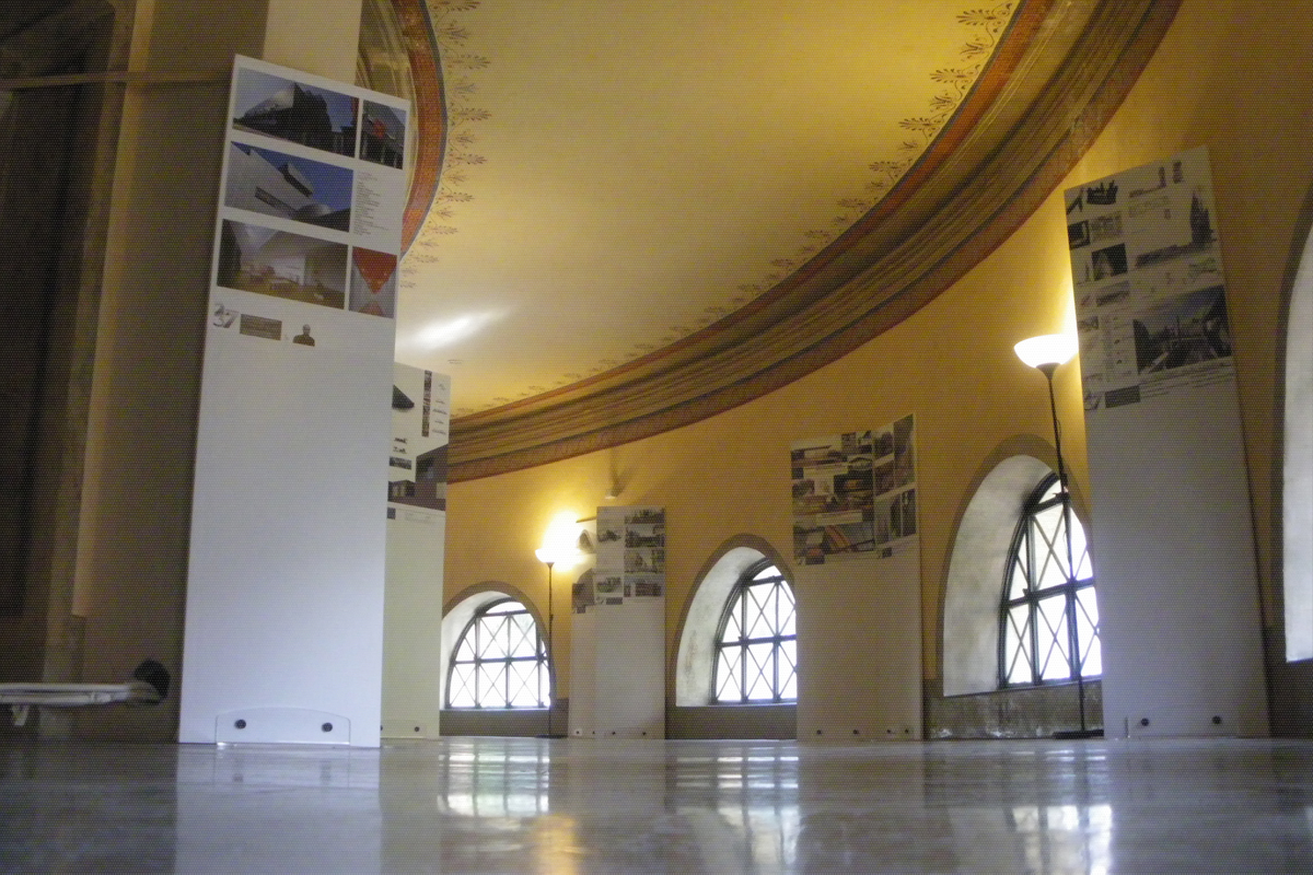 Sao schiavello architects office roma mostra giovani for Roma ordine architetti